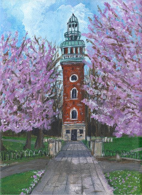 Spring Carillon - Acrylic on canvas