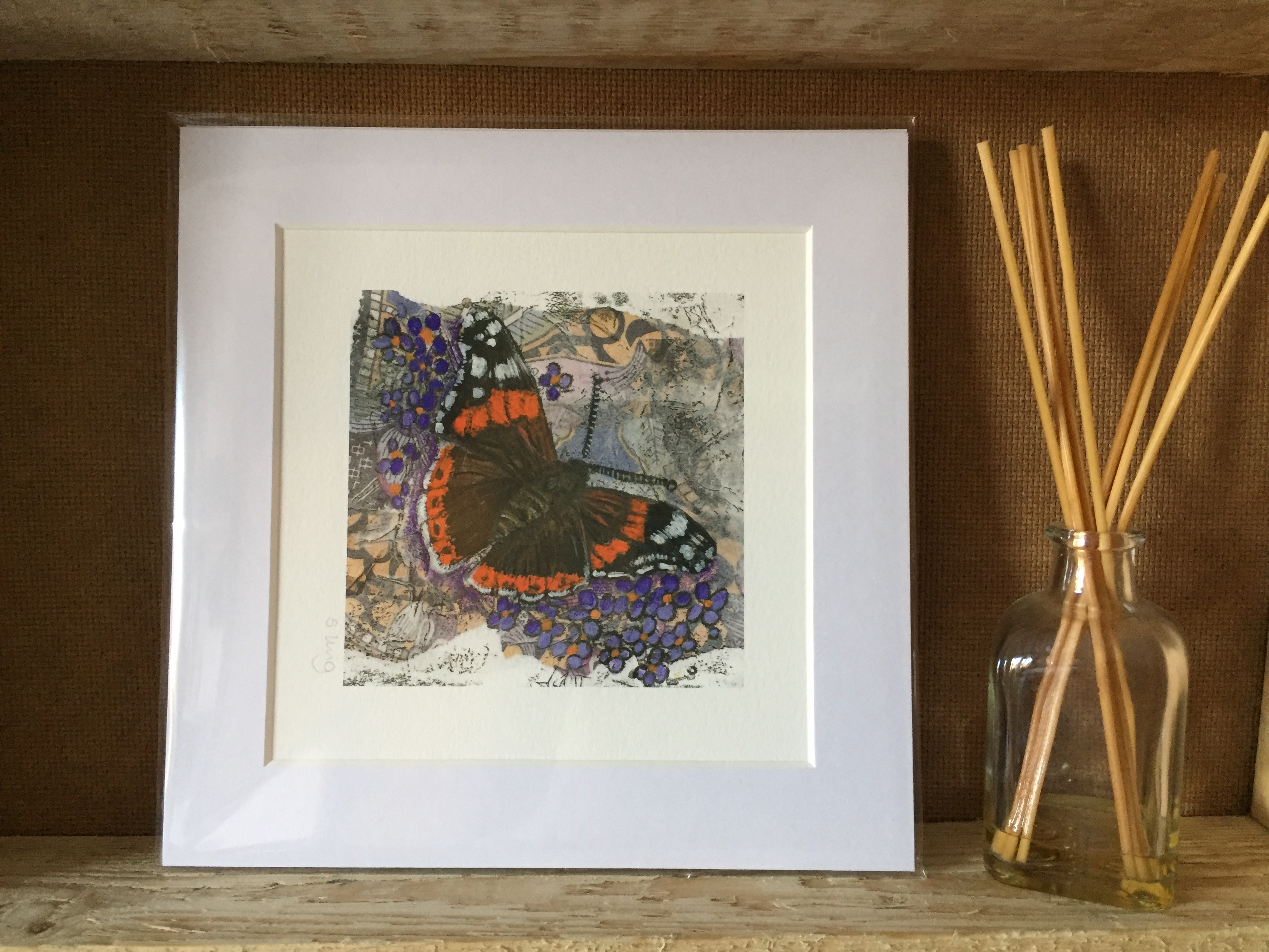 'Red Admiral' print