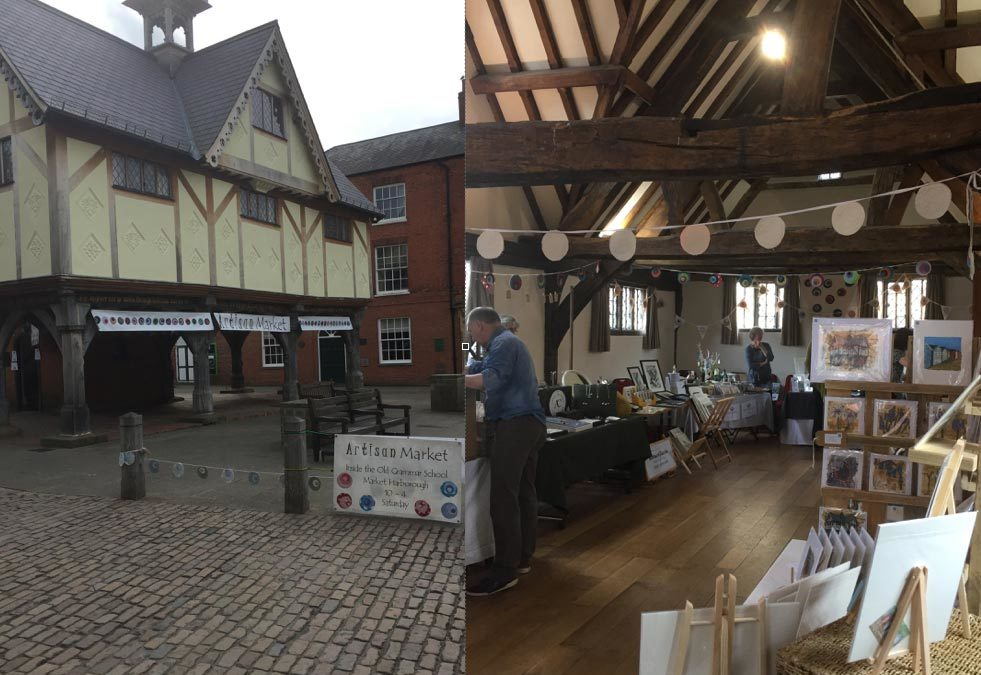 Artisan Spring Market, Market Harborough